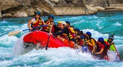 rafting in india