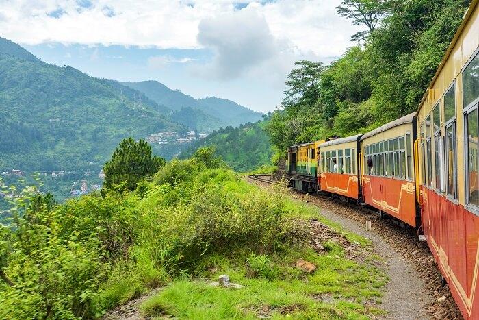 himachal train hills