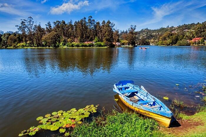 kodaikanal boat lake