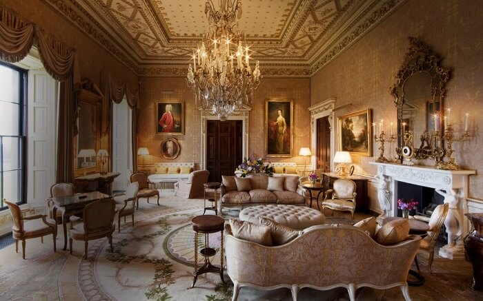 luxurious Ballyfin Demesne