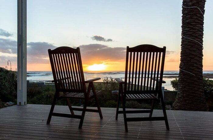 views from palm villa