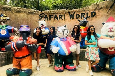 pooja thailand trip safari world cover image