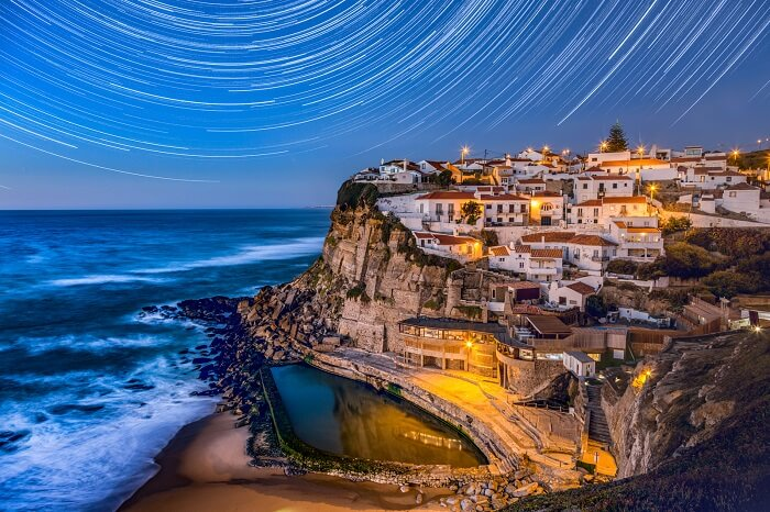 portugal star trail