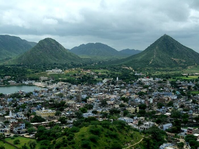 Pushkar view from top