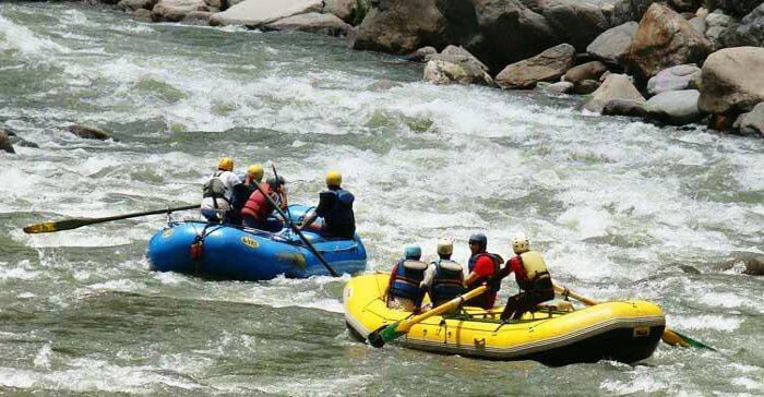 rafting in spiti rivers