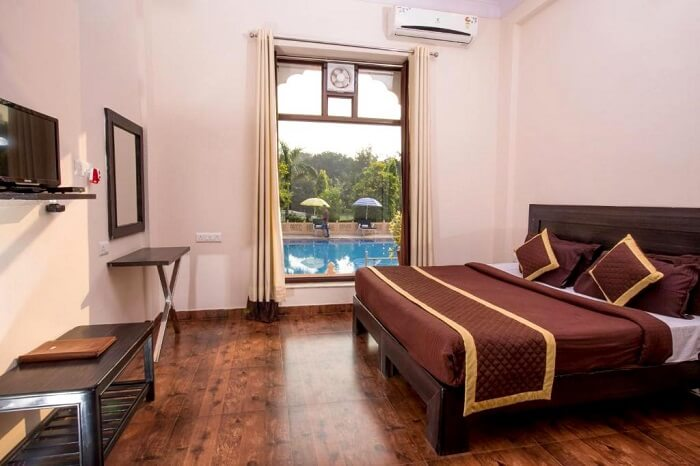 room in ranthambore national park