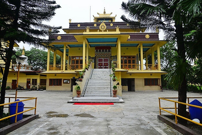 a sacred place for Buddhists