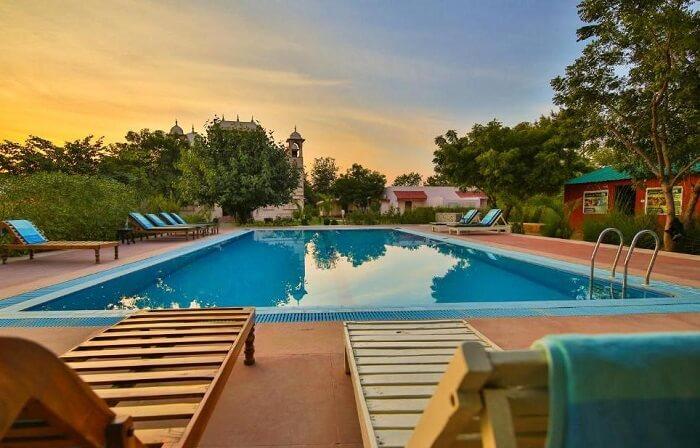 pool view of sher garh