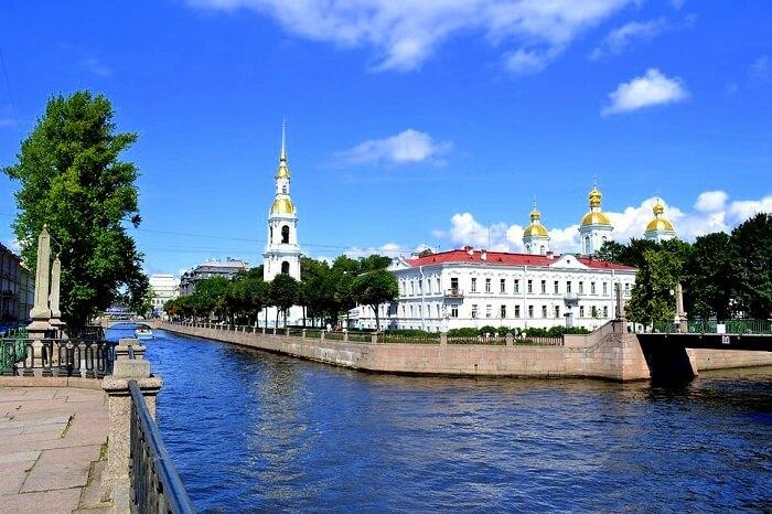st. petersburg in russia