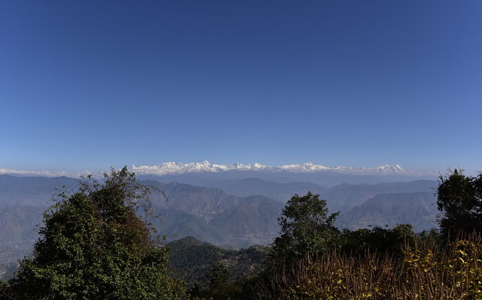 the gorgeous mountains of Kanatal