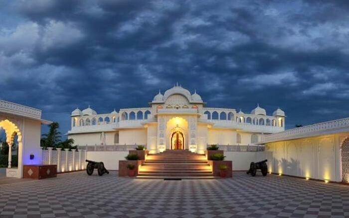 facade of tigress resort