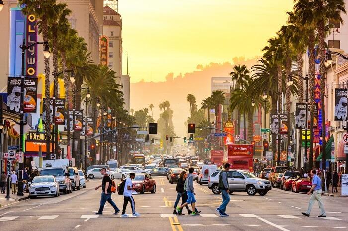LA Shopping street