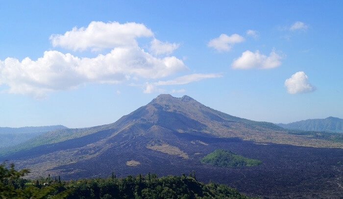 Mount Kintamani in Bali