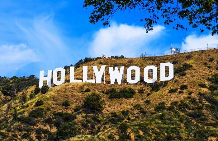Aerial Tram By Warner Bros Till The Hollywood Sign