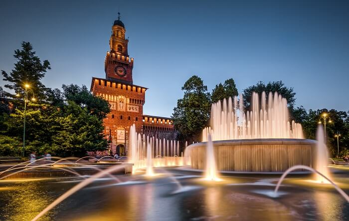 Sforzesco Castle Milan