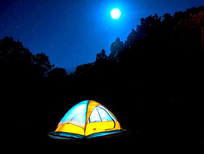 Night Camping in Barot Valley