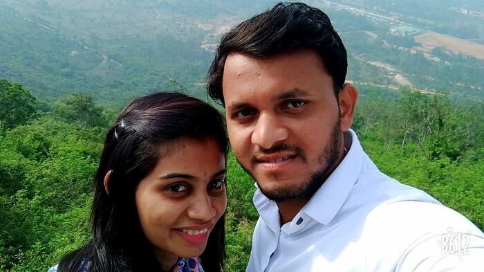 couple at doddabetta peak