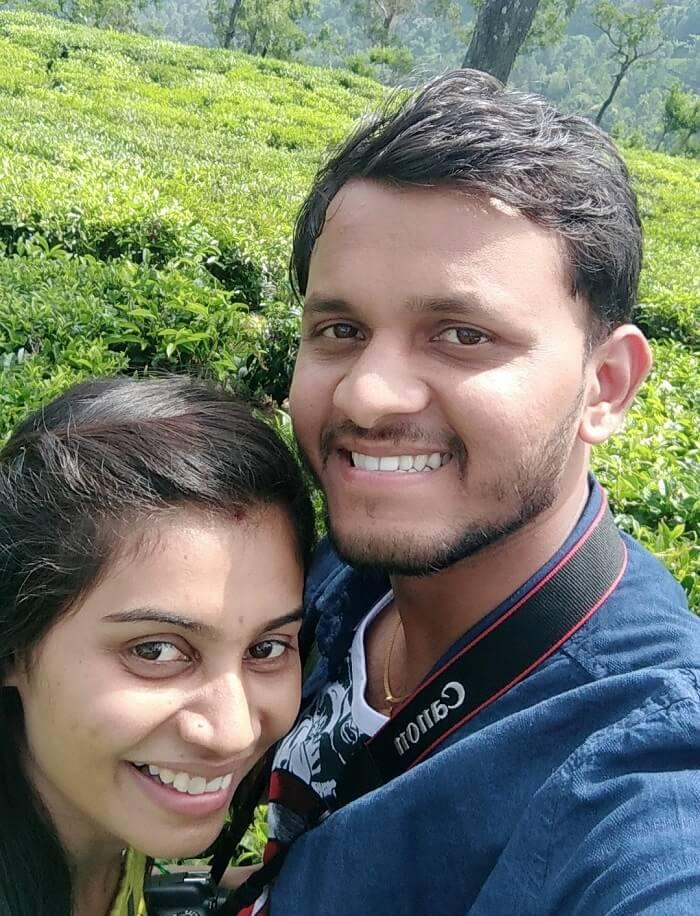 couple in coonoor's tea farm