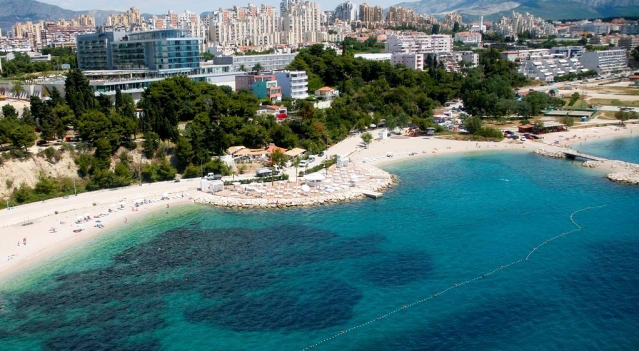 Bacvice Beach in Croatia