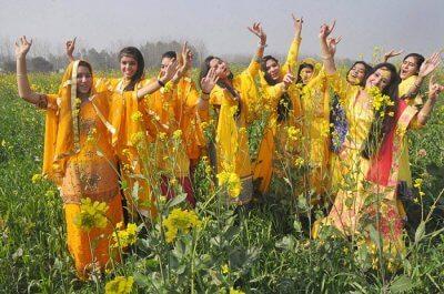 Basant Panchami women