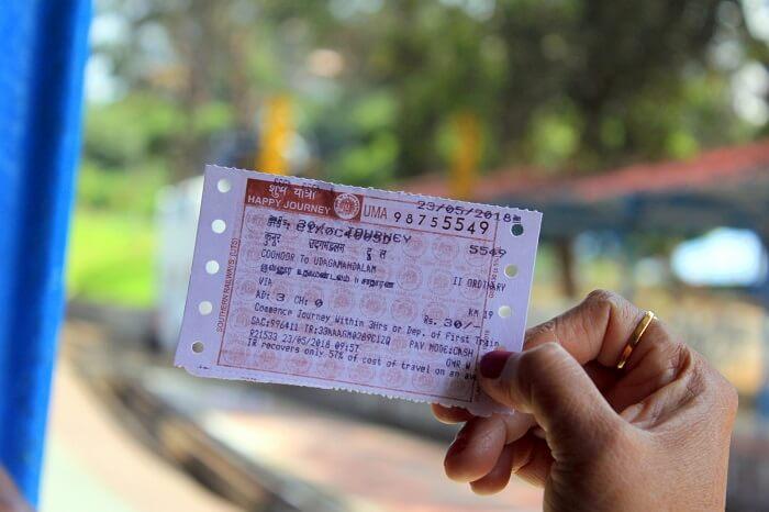Book your Nilgiri Mountain Railway tickets well in advance