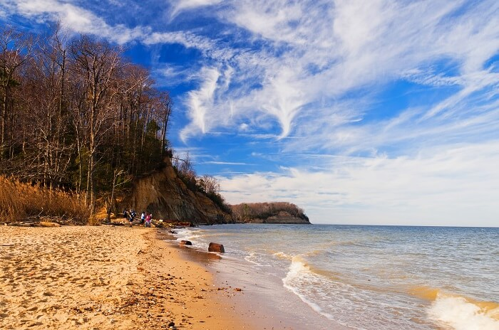Calvert Cliffs State Park Beach