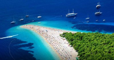 Croatia beautiful beach