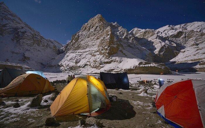 Futta Saur Trek Camping