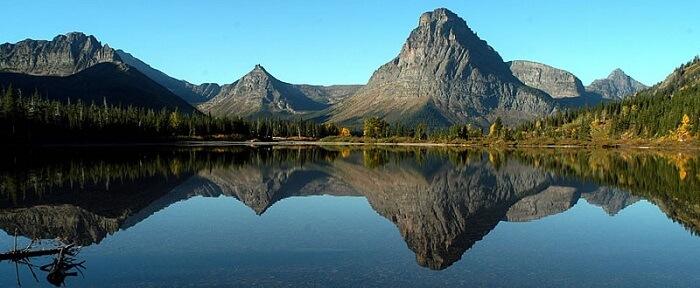 Two medicine lake Glacier National Park