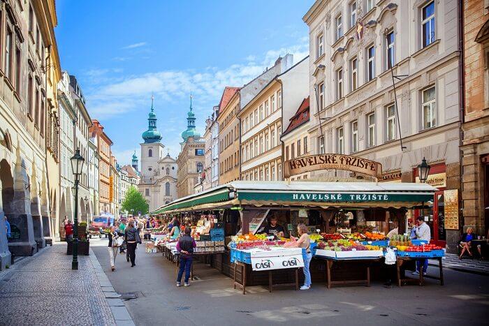 Havelske Trziste Market in Prague