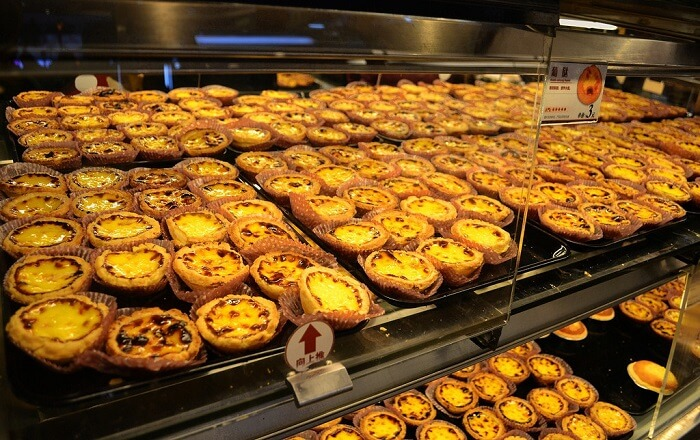 Hog up egg tarts - Portuguese Special