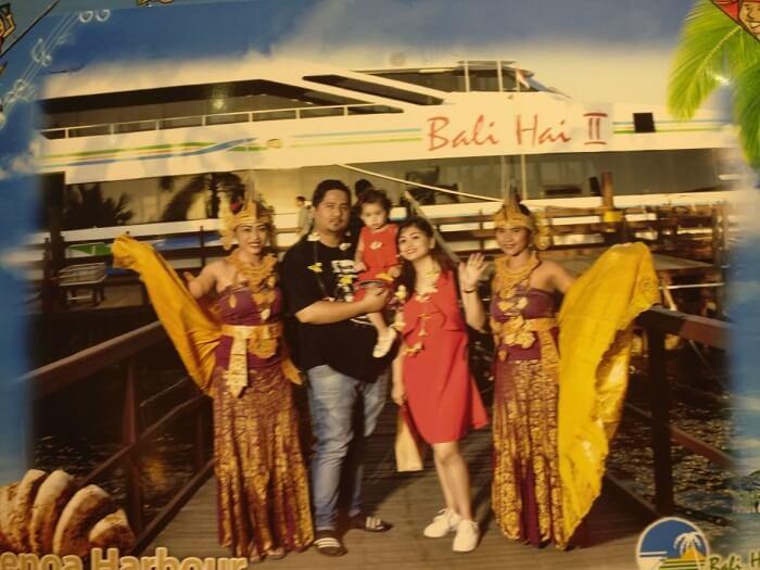 Bali Hai Cruise welcome