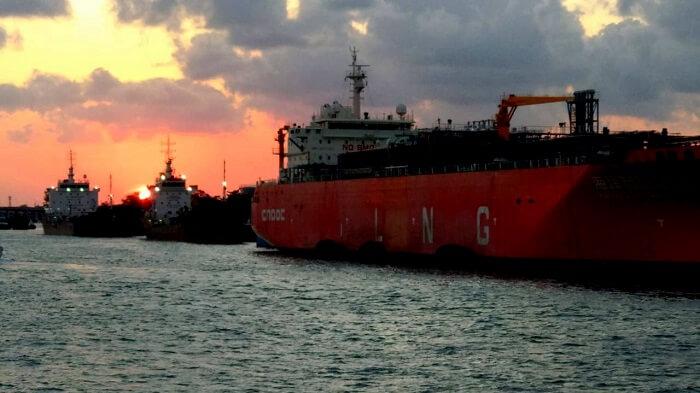 sunset cruise in bali