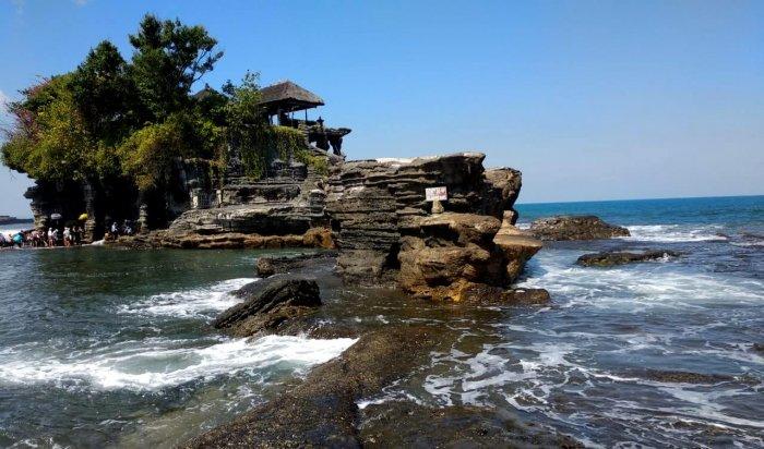 beautiful view of bali beach