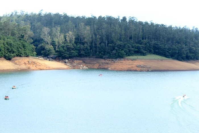 boating in ooty lake