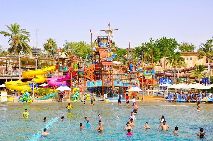 Immerse yourself in a thrilling aquatic journey at Wild Wadi