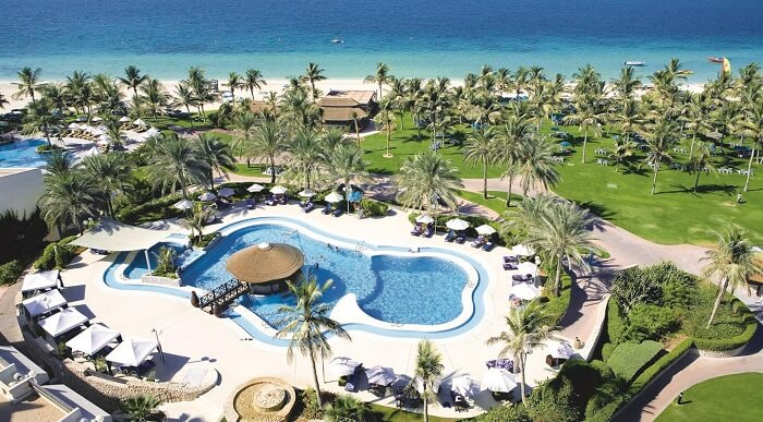 a luxury resort in Dubai