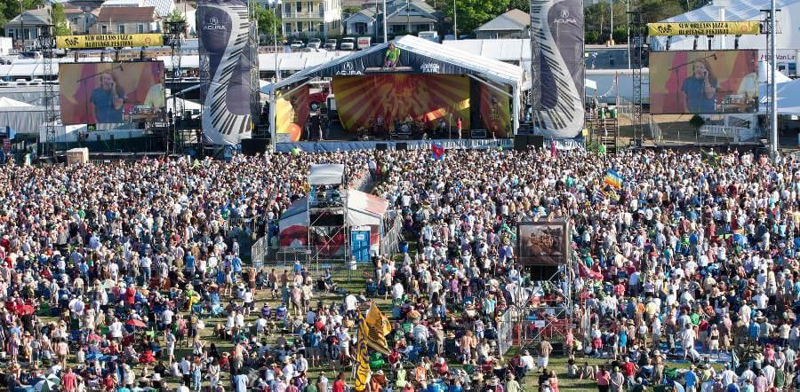Jazz & Heritage Festival