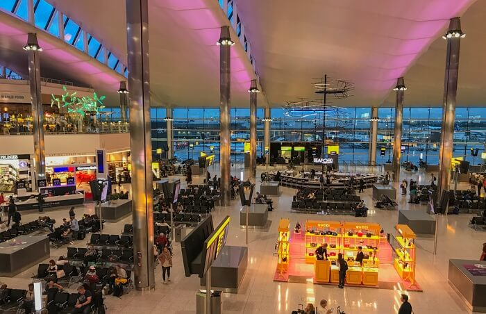 London Heathrow is also one of the best in the continent