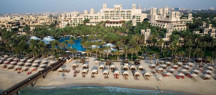 one of the biggest resorts in Dubai