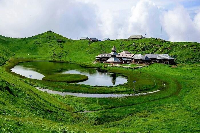 Beautiful Prashar Lake
