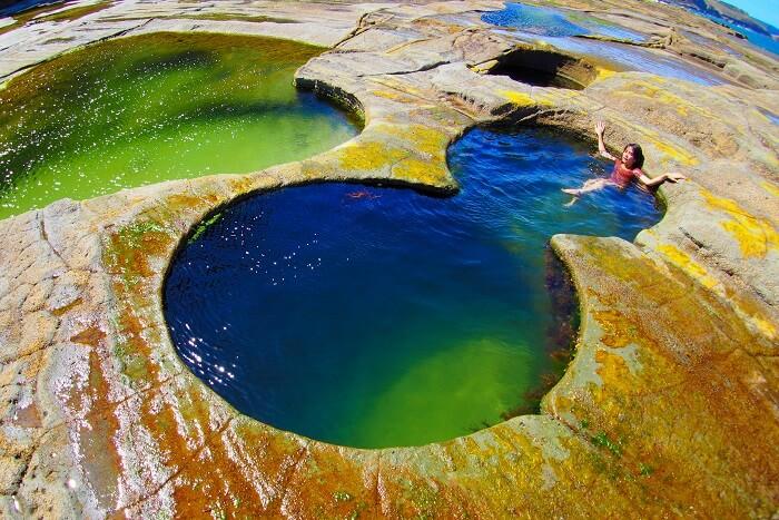 Royal National Park figure 8 pools australia