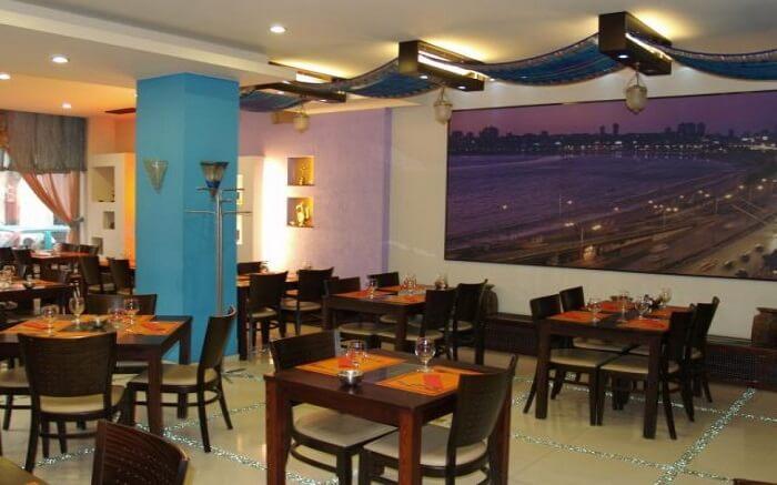 Salaam Bombay restaurant in Budapest