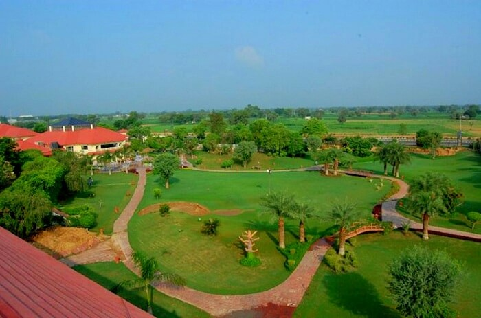 resorts in Neemrana for relaxation and business activities