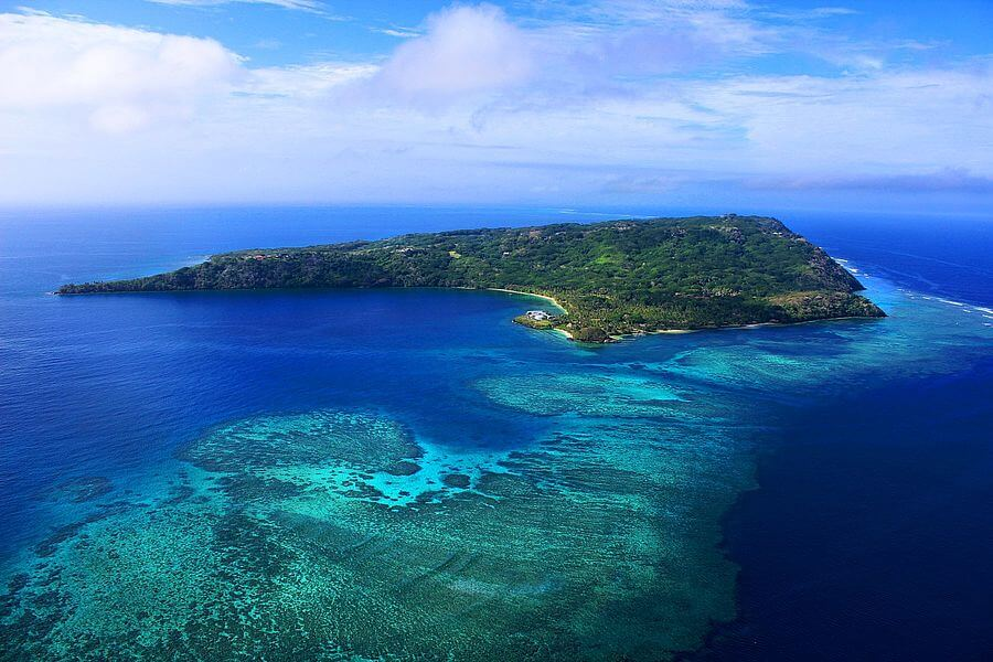 the gorgeous Wakaya Island