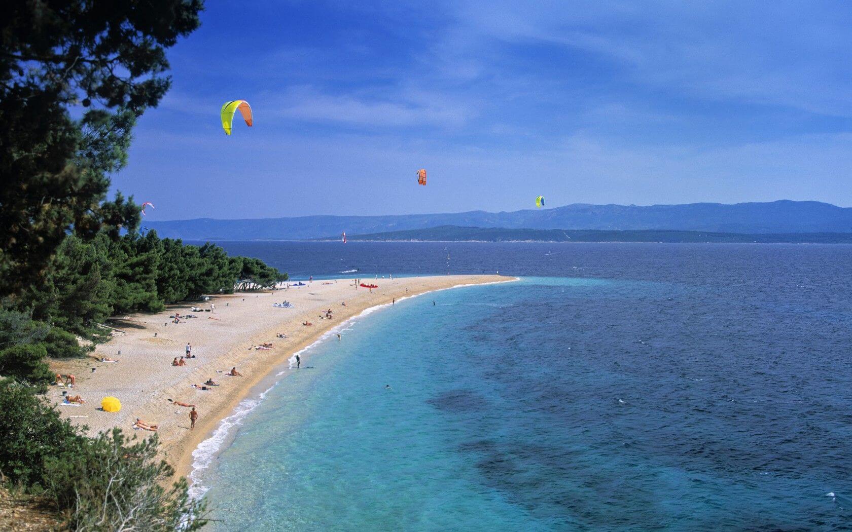 Spiaza Beach in Croatia