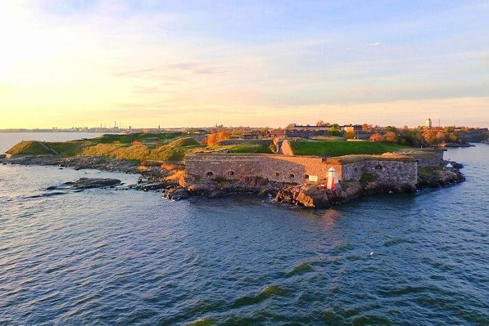overview of the Suomenlinna