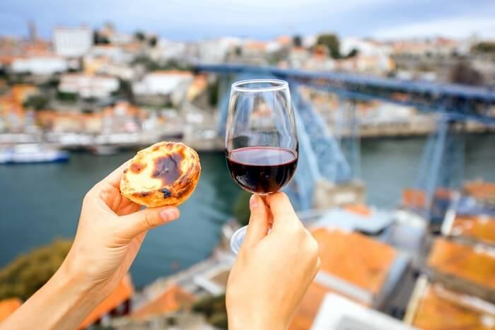 Take a wine tasting tour in Porto portugal