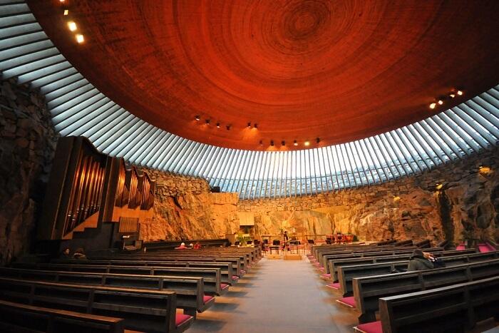 church at the heart of Helsinki