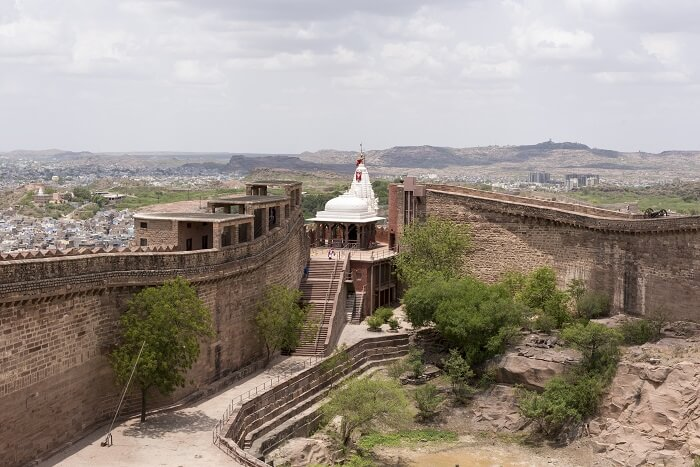 The Chamunda Mataji Temple mehrangarh fort